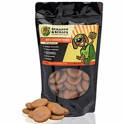 Scrappy Pet Treats For Dogs - 10 Oz Beef And Cheddar Potato Snacks Oven-Baked