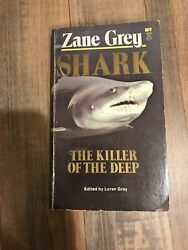 Shark Paperback by Zane Grey 1967