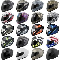 Scorpion EXO R420 Full Face Helmet - CHOOSE COLOR & SIZE (CLEAR SHIELD)