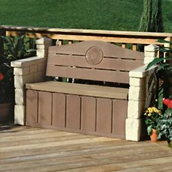 Outdoor Storage Bench Patio Benches For Front Back Porch Backyard Garden Deck