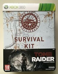 Tomb Raider Survival Kit Collectors Edition (Xbox 360) Factory Sealed Ultra Rare