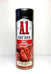 A1 Dry Rub Bold Original 4.5 oz Marinade Rub  FREE SHIPPING