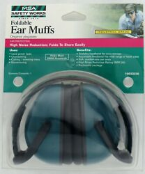 MSA Safety Works 10033236 Foldable Ear Muffs Industrial Grade New Ships Today