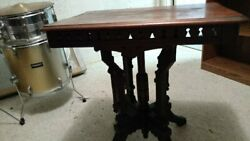 Antique Eastlake syle victorian side table