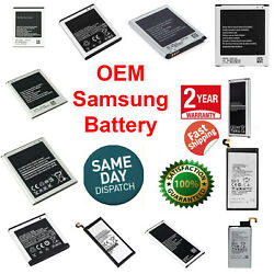 OEM SPEC Battery Replacement For Samsung Galaxy Original Note S4 S5 S6 S7 S8 S9 $4.89