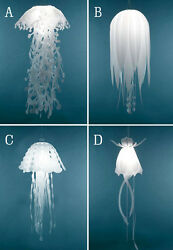 Ethereal Glow Jellyfish Lampshade Ceiling Chandelier Light Pendant Hanging Lamps $39.99