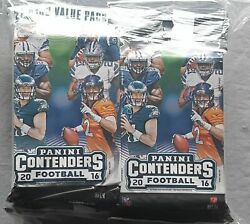 Panini Football Contenders Fat Pack NFL Pack of 12 Lot 2016 264 Cards!!