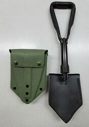 US Military Surplus Folding Entrenching Tool with New quot;ALICEquot; Vinyl Shovel Cover $29.99