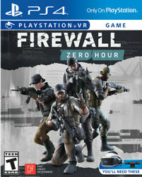 Firewall: Zero Hour VR for PlayStation 4 New Video Game PS 4 Playstation VR $14.52
