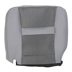 For 2006 2007 2008 2009 2010 Dodge Ram 2500 Driver Bottom Gray Cloth Seat Cover $88.65