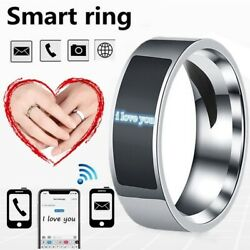NFC Smart Finger Digital Ring Wear Connect Android Phone Equipment Rings Fashion