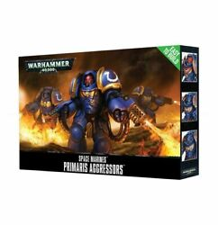 Warhammer 40k - ETB Easy To Build Primaris Aggressors - Brand New! - 48-86