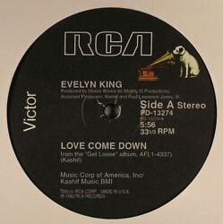 EVELYN KING Love Come Down 12