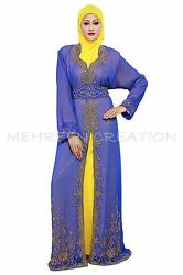 MAGHRIBI DUBAI ABAYA ISLAMIC ARABIAN MAXI FOR WOMEN STYLISH MAXI DRESS 2009 $89.99