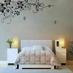 Removable Flower Wall Stickers Home Living Room Mural Decor Art Vinyl Decal DIY