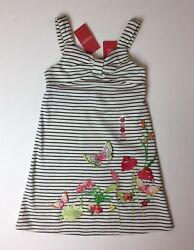 NWT Gymboree Tropical Paradise Butterfly Dress 2005 Girls Sz 5 HTF NEW Nice!