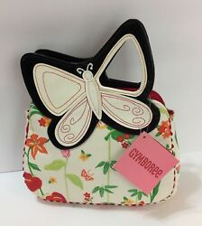 NWT Gymboree Tropical Paradise Butterfly Girls Purse 5T 3 4 5 6 7 8 9 10 VHTF