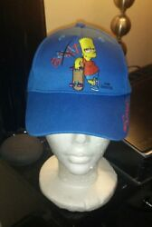 Universal Studios Singapore Kids Hat The Simpsons Bart Theme Park Matt Groening