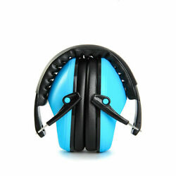 US Foldable Noise Reduction Shooting Hearing Protection Ear Muffs Black Headset