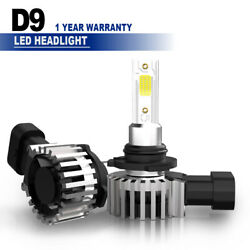 9006 HB4 60W 13200LM LED Headlight 6500K Low Beam Bulbs for Cadillac CTS 2003-07