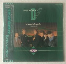 DURAN DURAN~UNION OF THE SNAKE (SUPER MIX)~JAPAN VINYL 12