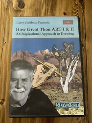 How Great Thou Art I & II Barry Stebbing 3 DVD Set Bought 2019 Never Used