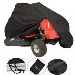 82quot; Waterproof Riding Lawn Mower Tractor Cover Yard Garden Outdoor UV Protector $22.99