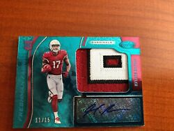 2019 Certified  Football Hakeem Butler Teal AUTO  3 COLORS 1115 CARDINALS
