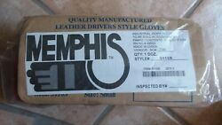 1 Dozen Small Memphis Leather driver style Gloves #3110S Shipping Included $24.00