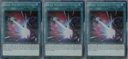 *** 3X DARK RULER NO MORE 3X *** PLAYSET SECRET RARE TN19-EN014 YUGIOH!  $35.99