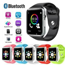 Bluetooth Smart Wrist Watch A1 wCamera GSM Phone For iPhone Android Samsung LG