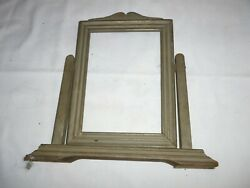 Vintage  Art Deco Swivel   Wooden Picture Frame on Stand 1920's