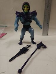He-Man Masters of the Universe SKELETOR Loose Complete Firm Legs Stands