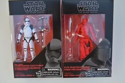 Star Wars The Black Series Elite Praetorian Guard amp; Stormtrooper 3.75quot; $15.99