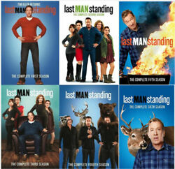 Last Man Standing: The Complete Series Season 1-6 Free Shipping