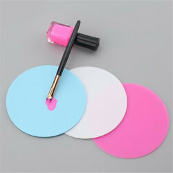 Silicone Paint Palette Mat Blossom Foldable Washable Nail Art Stamping Pad QL