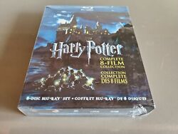 Harry Potter: Complete 8-Film Collection (Blu-ray Disc 2011 8-Disc Set)