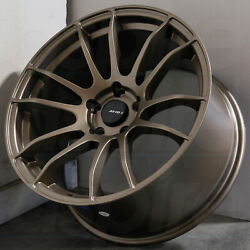 17x8 Matte Bronze Wheels AVID1 AV20 AV-20 5x114.3 35 (Set of 4)