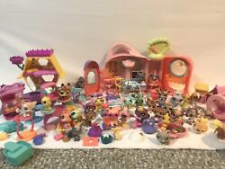 Lps littlest pet shop huge lot Vintage Exotic Pets And Tons Of Accessories Etc