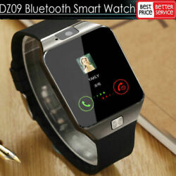QUALITY DZ09 Bluetooth Smart Watch Camera SIM Slot For HTC Samsung Android Phone