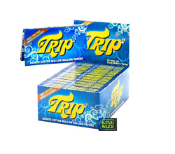 Trip 2 Clear Cellulose King Size Transparent Rolling Papers Buy 4$2.36PK! USA