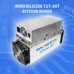 🔥 New Miner Innosilicon T2T 30T -better than Antminer 🔥 Fast shipping from US