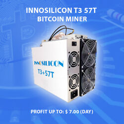 🔥 NEW Innosilicon T3 57T 🔥 Profitable Bitcoin Miner bett that antminer bitmain