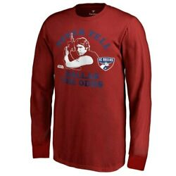 Fanatics Branded FC Dallas Youth Red Star Wars Never Tell the Odds Long Sleeve