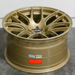 17x7 Gold Wheels XXR 530 5x1005x114.3 35 (Set of 4)