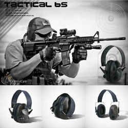 Electronic Hearing Protector Noise Reduction Ear Muffs Shooting Headset Defender