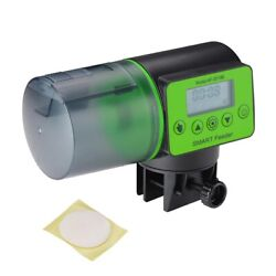 200 ml Automatic Fish Feeder For Fish Tank Aquarium Home Use with LCD Screen $17.90