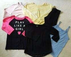 Girls size 10 12 Shirts and Pants Lot of 6 items $15.00