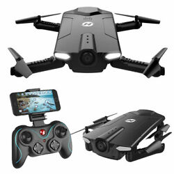 Holy Stone HS160 FPV Drone With 720P HD Wifi Camera Foldable 2.4G RC Quadcopter $85.00