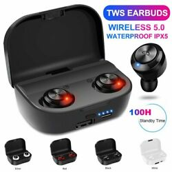 A6 Plus Bluetooth 5.0 Headset TWS Wireless Earphones Earbuds Stereo Headphones